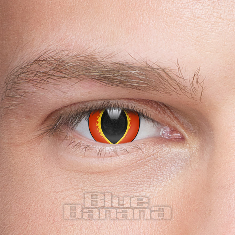 Crazy Frog 30 Day Coloured Contact Lenses (Orange)
