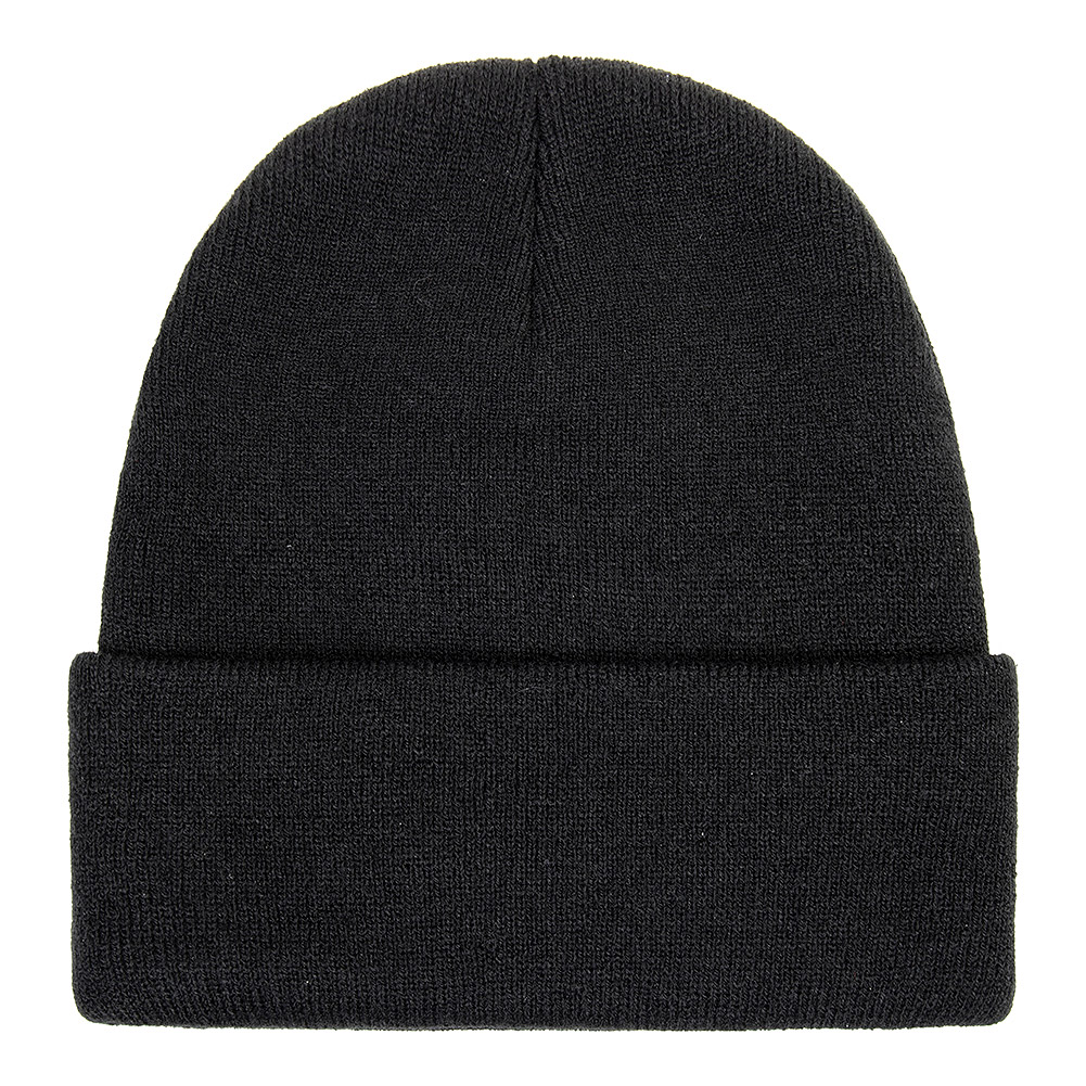 Blue Banana Normal People Scare Me Beanie Hat (Black)
