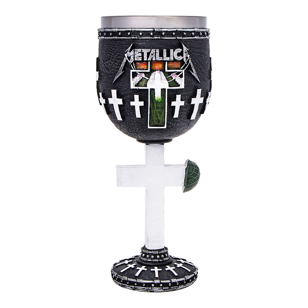 Nemesis Now Metallica Master Of Puppets Goblet
