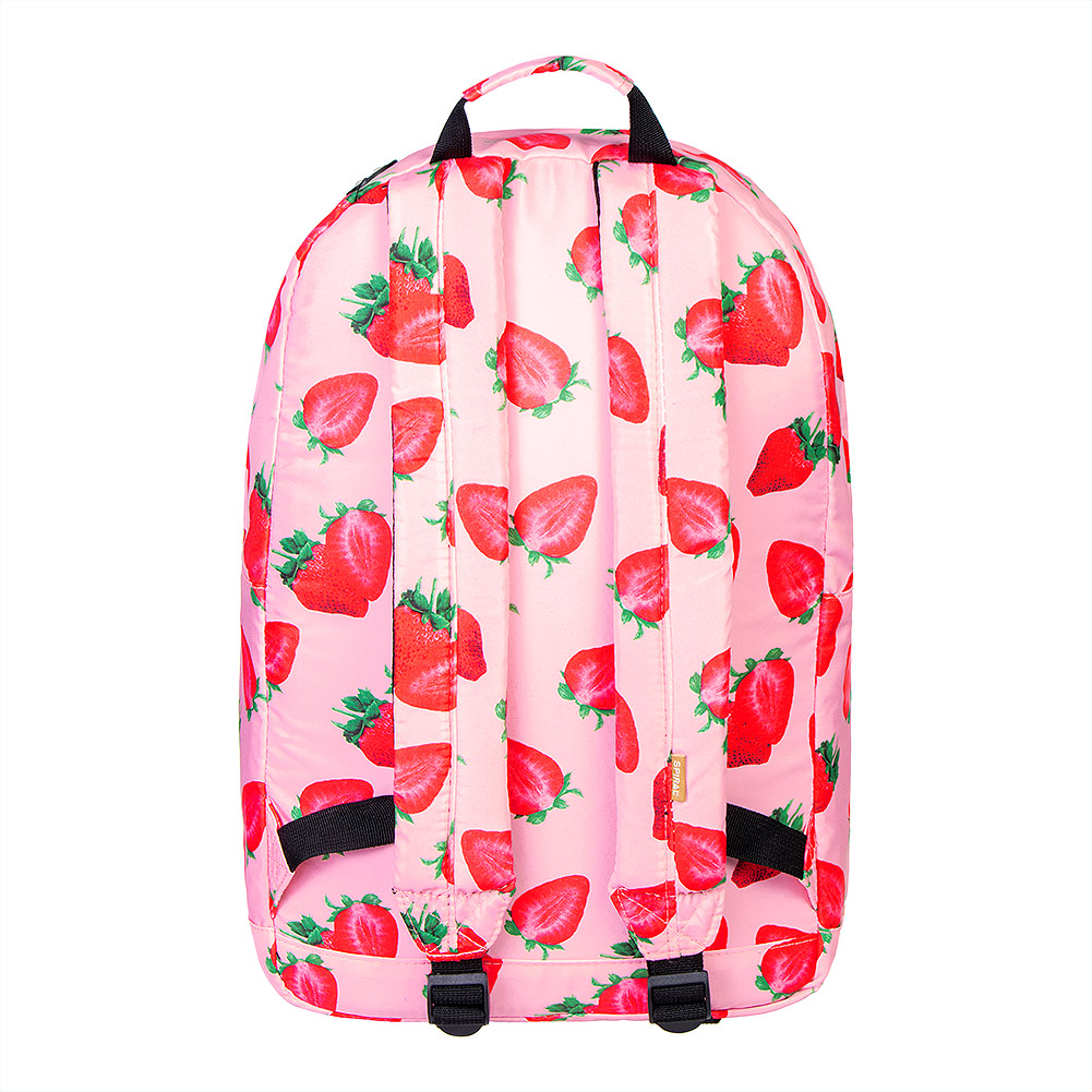 Spiral Strawberry Backpack (Pink)