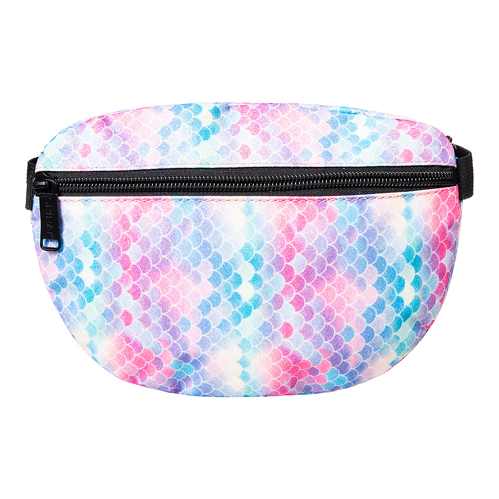 Spiral Pastel Candy Bum Bag (Multicoloured)