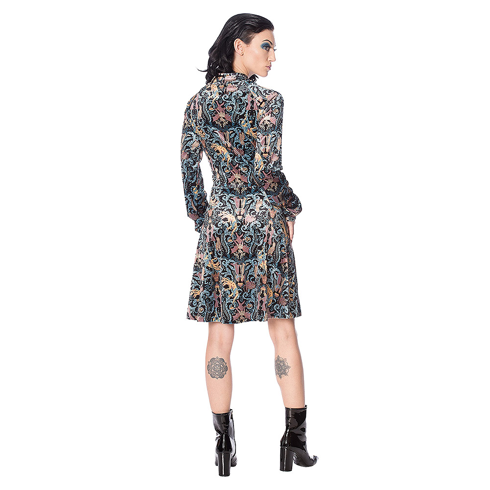 Banned Liberty Dragon Dress (Multicoloured)
