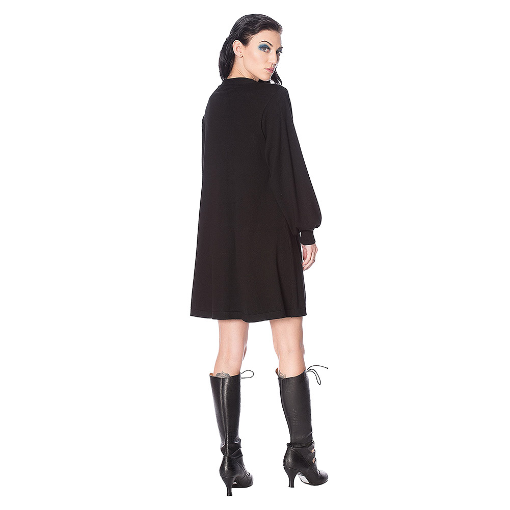 Banned Magma Cardigan Dress (Black)