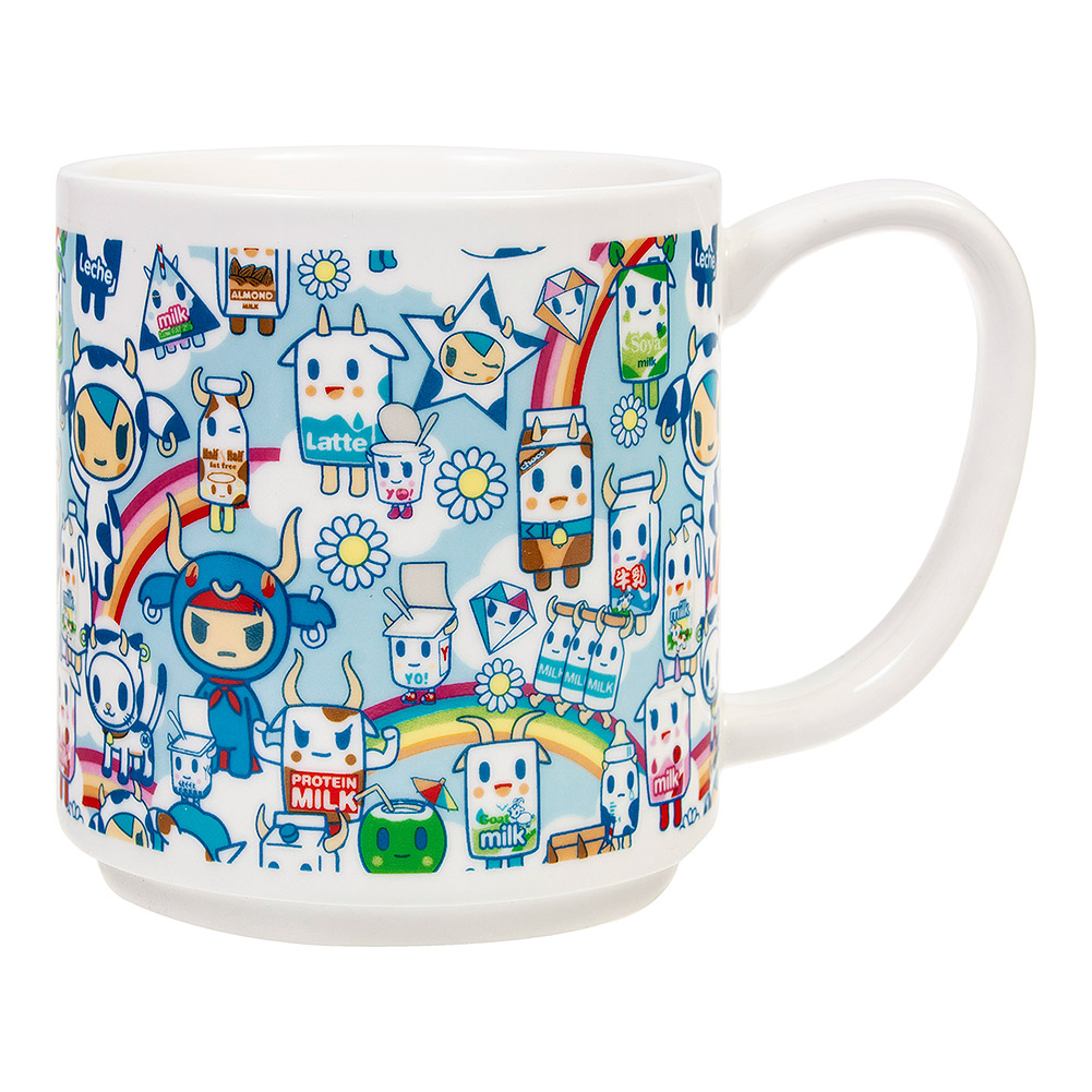 Tokidoki Moofia Stacking Mugs (Multicoloured)