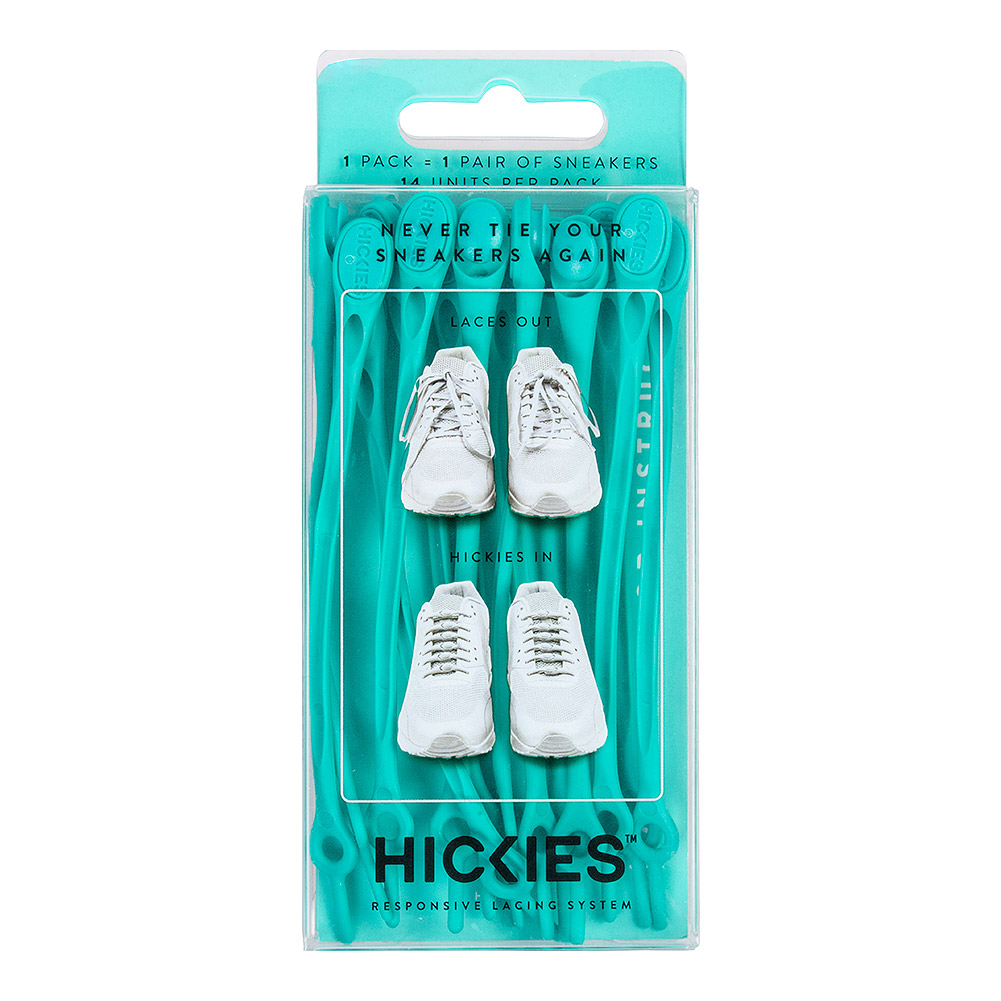 Hickies Laces (Turquoise)