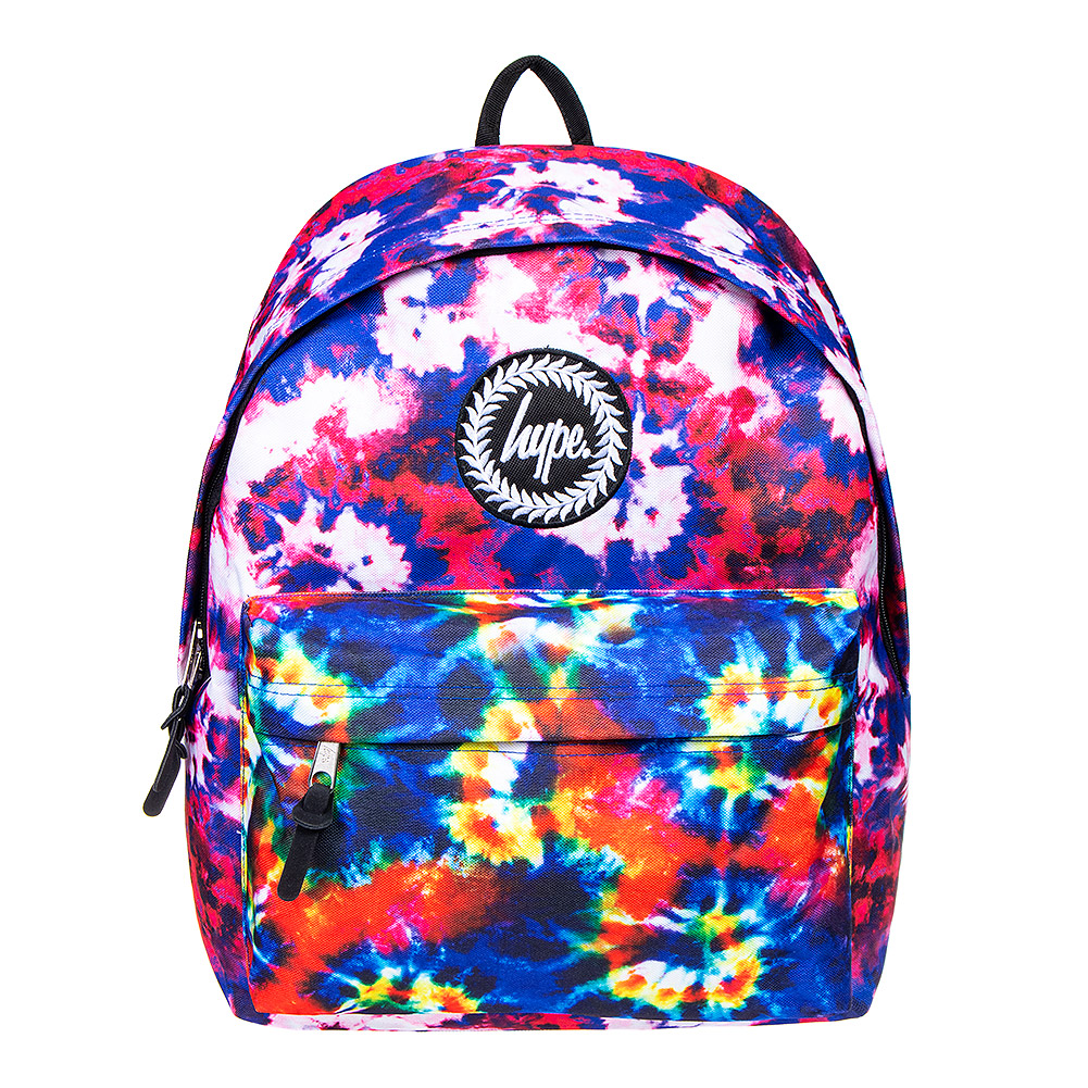 Hype 90's Tie Dye Backpack (Multicoloured)