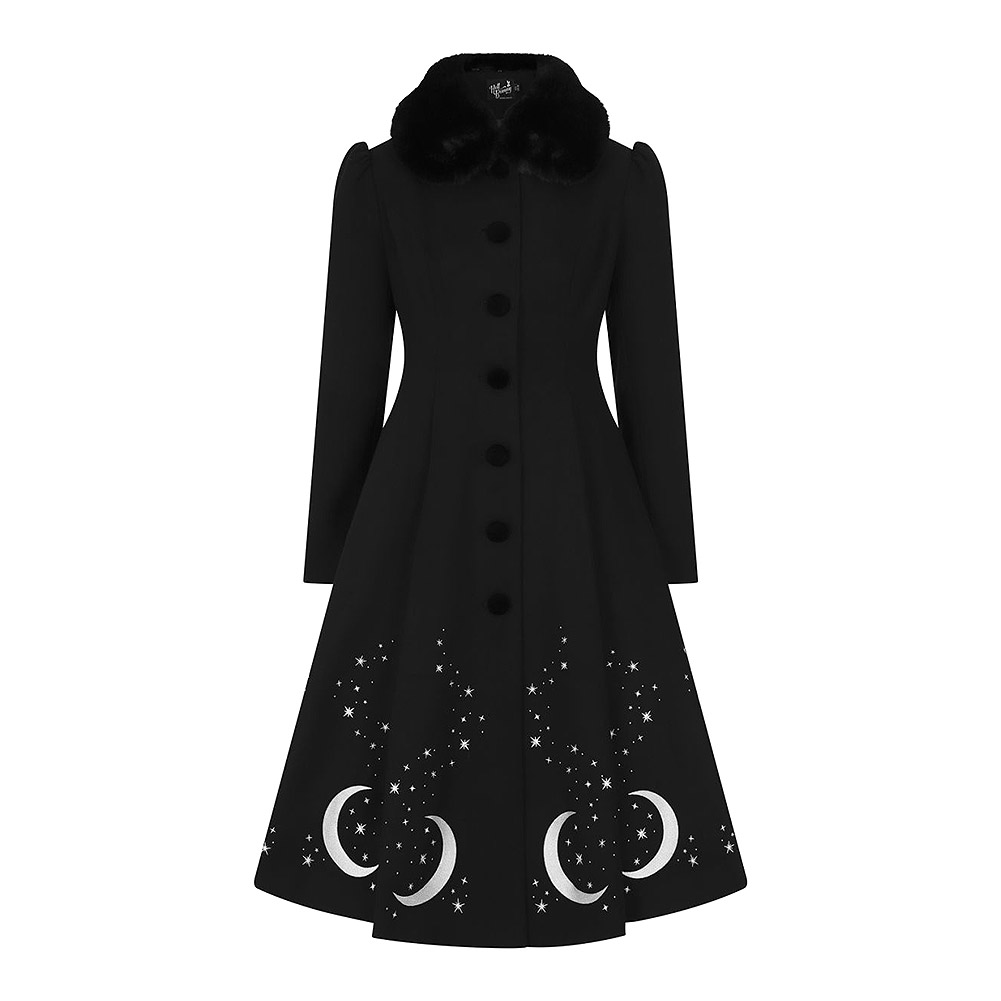 Hell Bunny Interstellar Coat (Black)