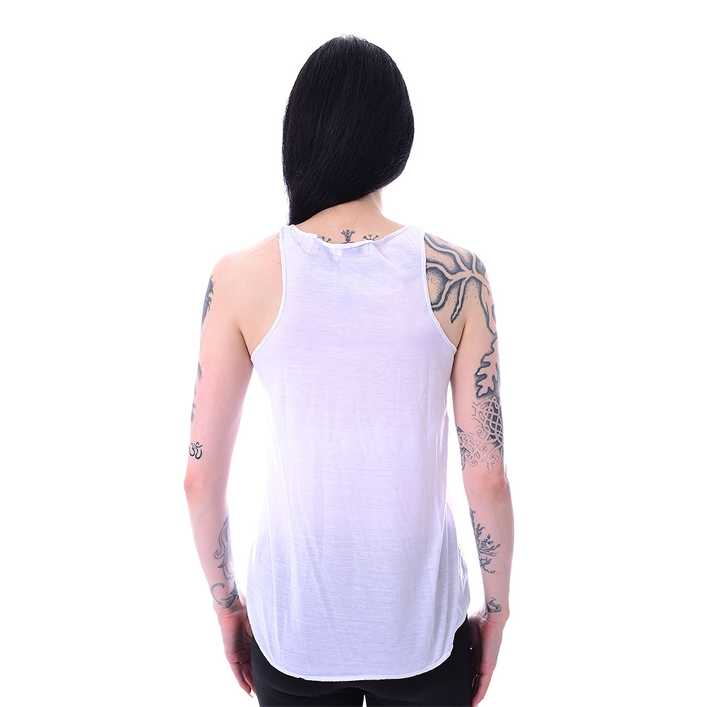 Innocent Llamaste Vest Top (White)