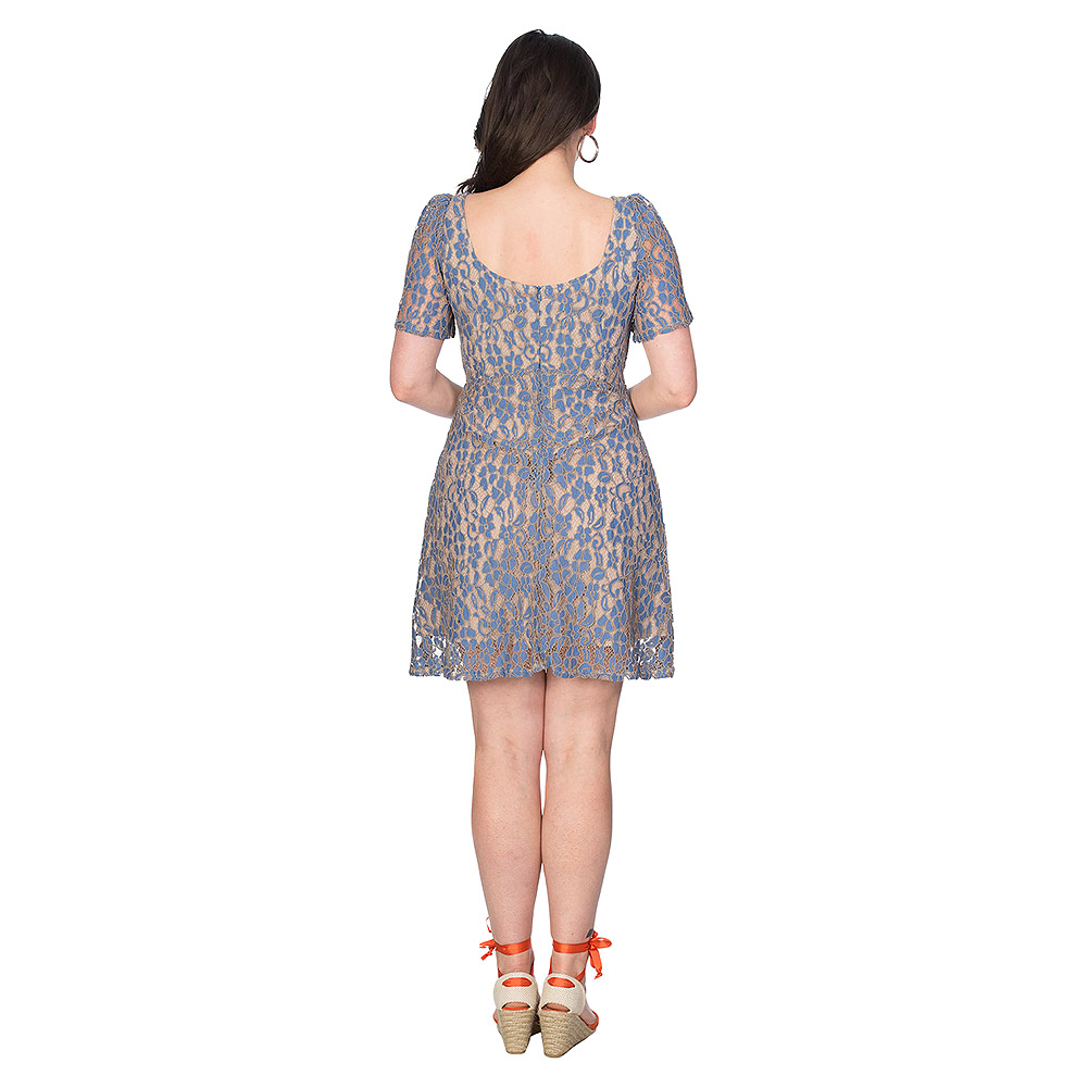 Banned Lady Lace Dress (Blue)