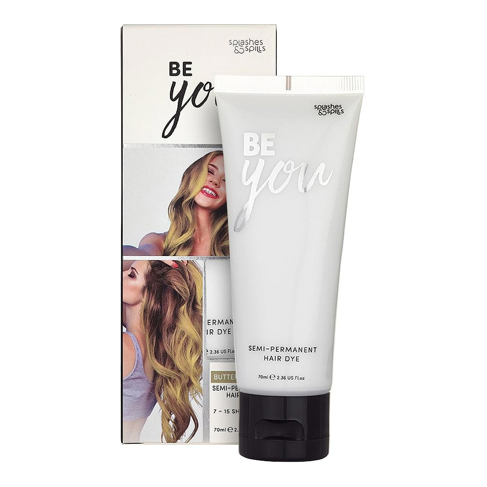 Splashes & Spills Be You Hair Dye 70ml (Butter Blonde)