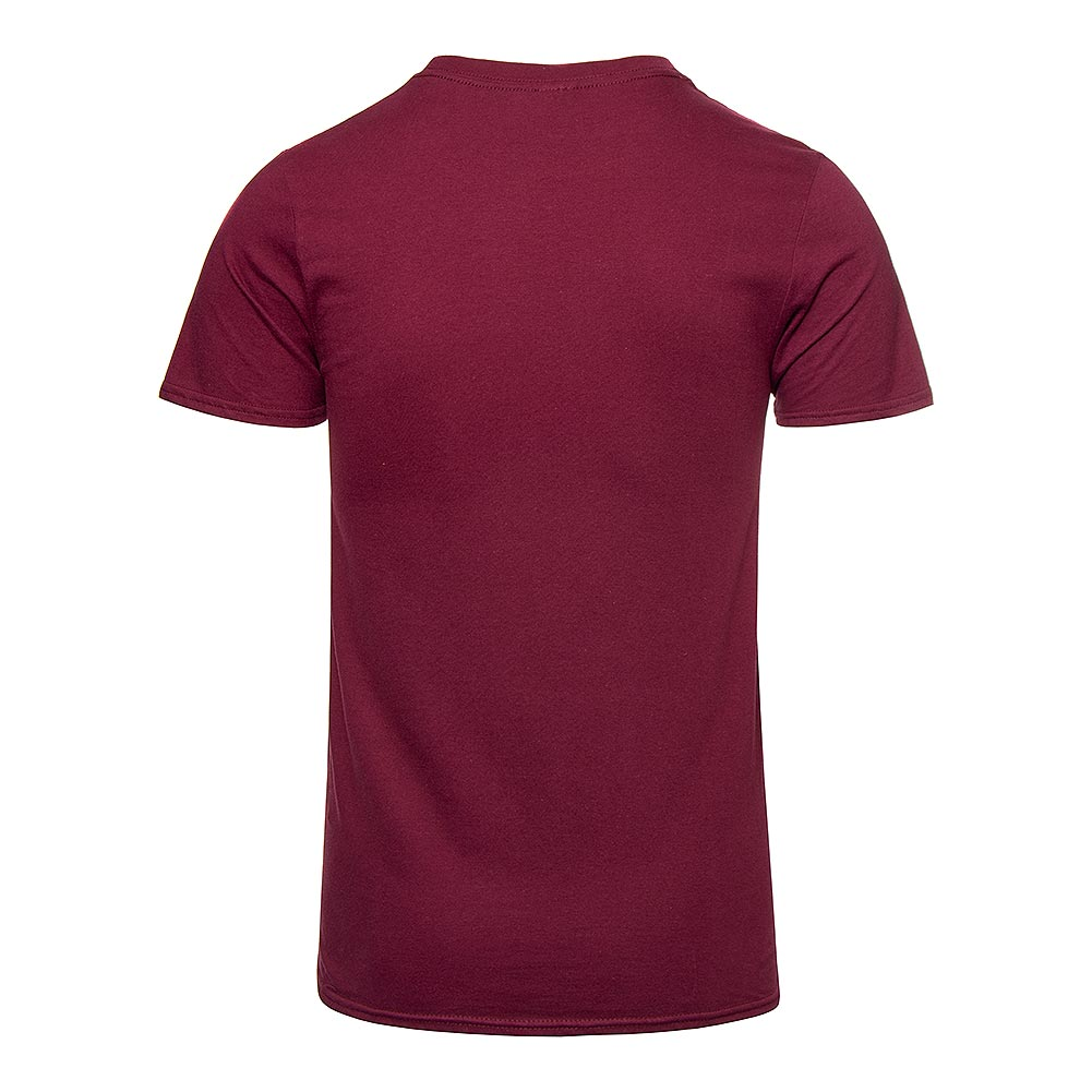Hysterical Heritage Iphone Charger T Shirt (Maroon)