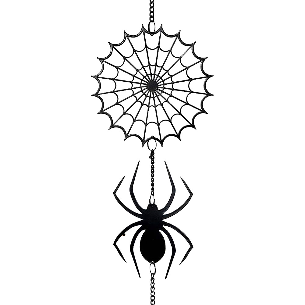 Alchemy Gothic Spider Hanging Decoration (Black)