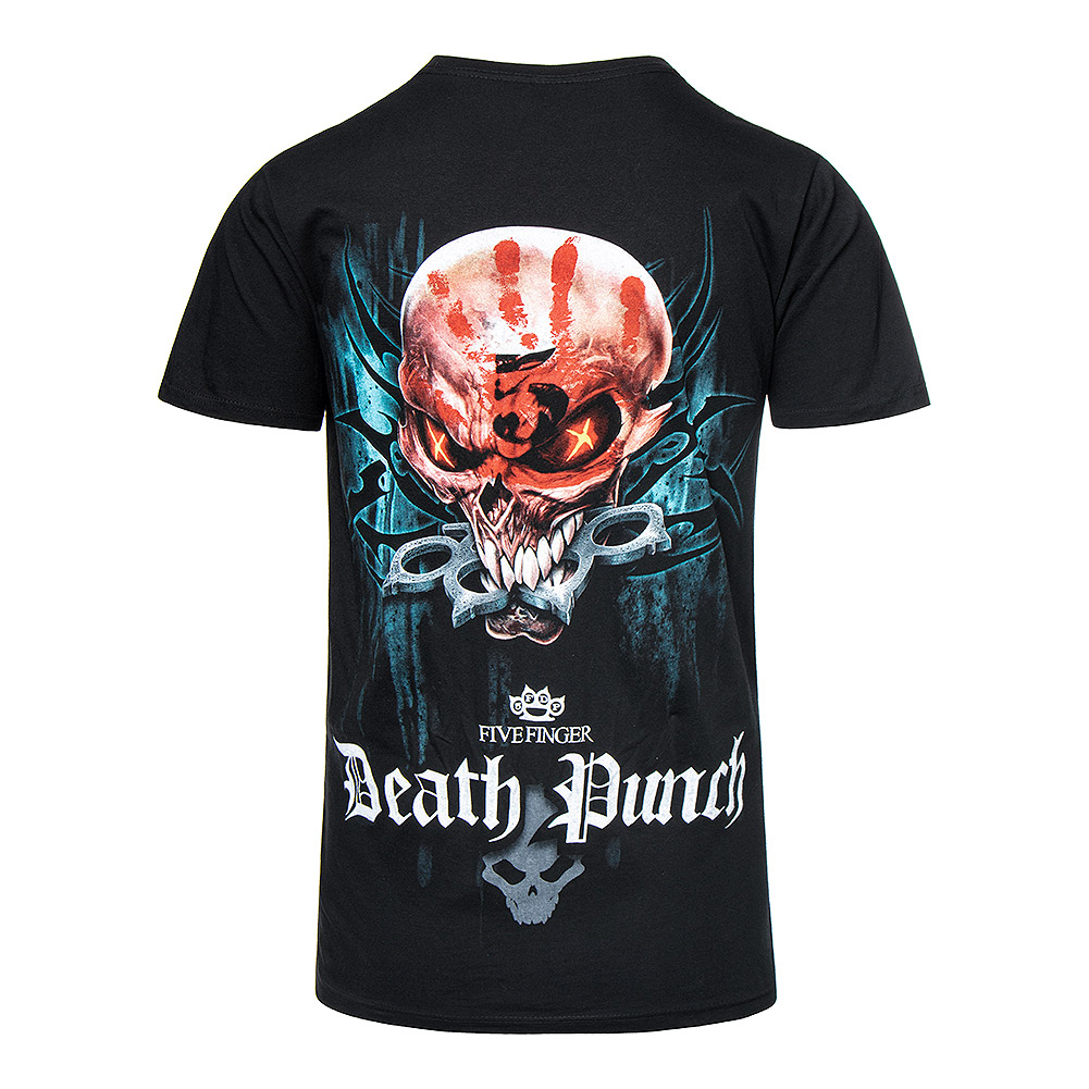 Spiral Direct Five Finger Death Punch Game Over T Shirt (Black)