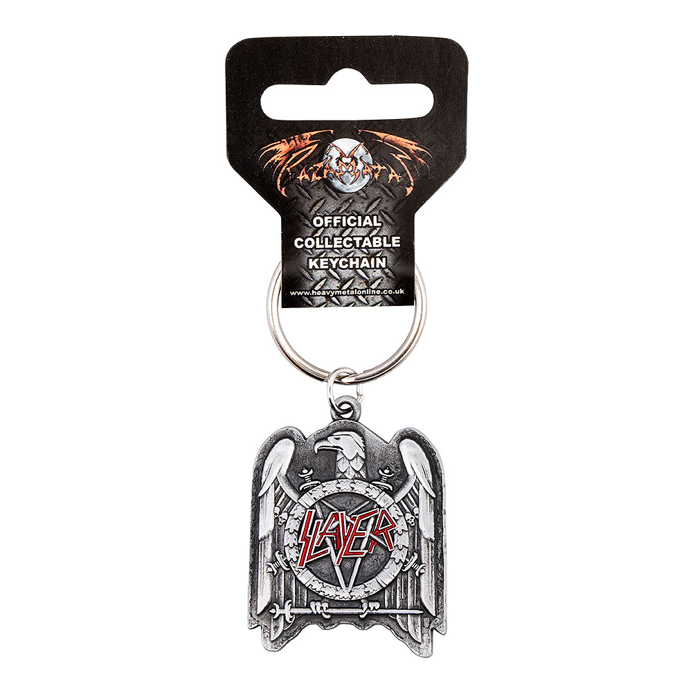Official Slayer Eagle Keyring (Silver)