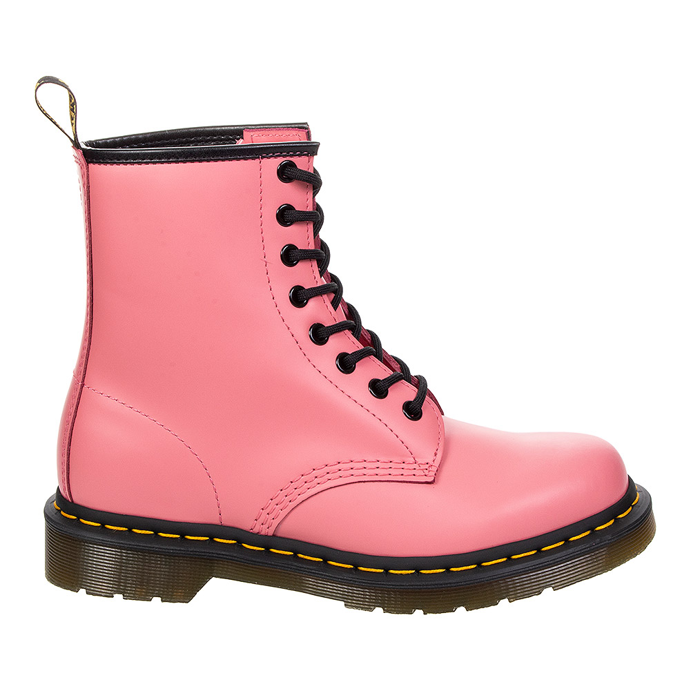 Dr Martens 1460 Smooth Icon Boots (Acid Pink)