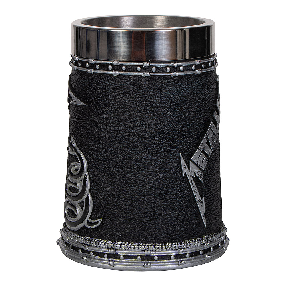 Nemesis Now Metallica The Black Album Tankard (Black)