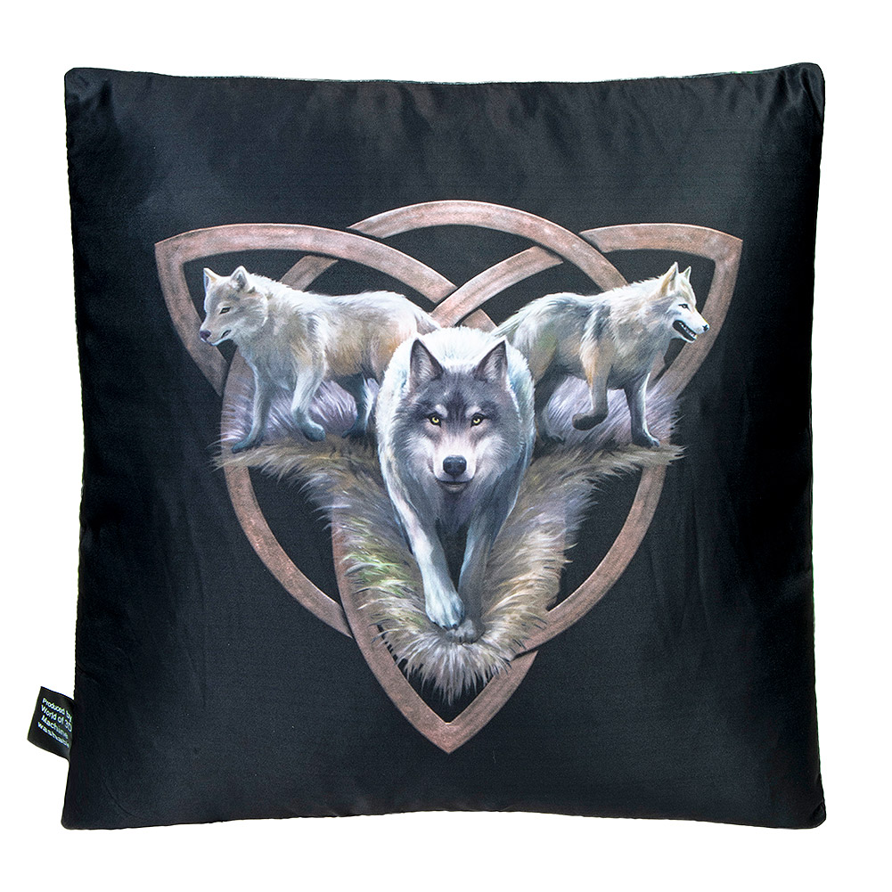 Anne Stokes Power Of 3 Cushion (Multicoloured)
