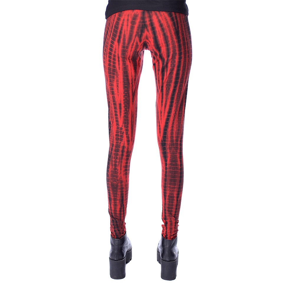 Innocent Deja Streifen Leggings (Rot)