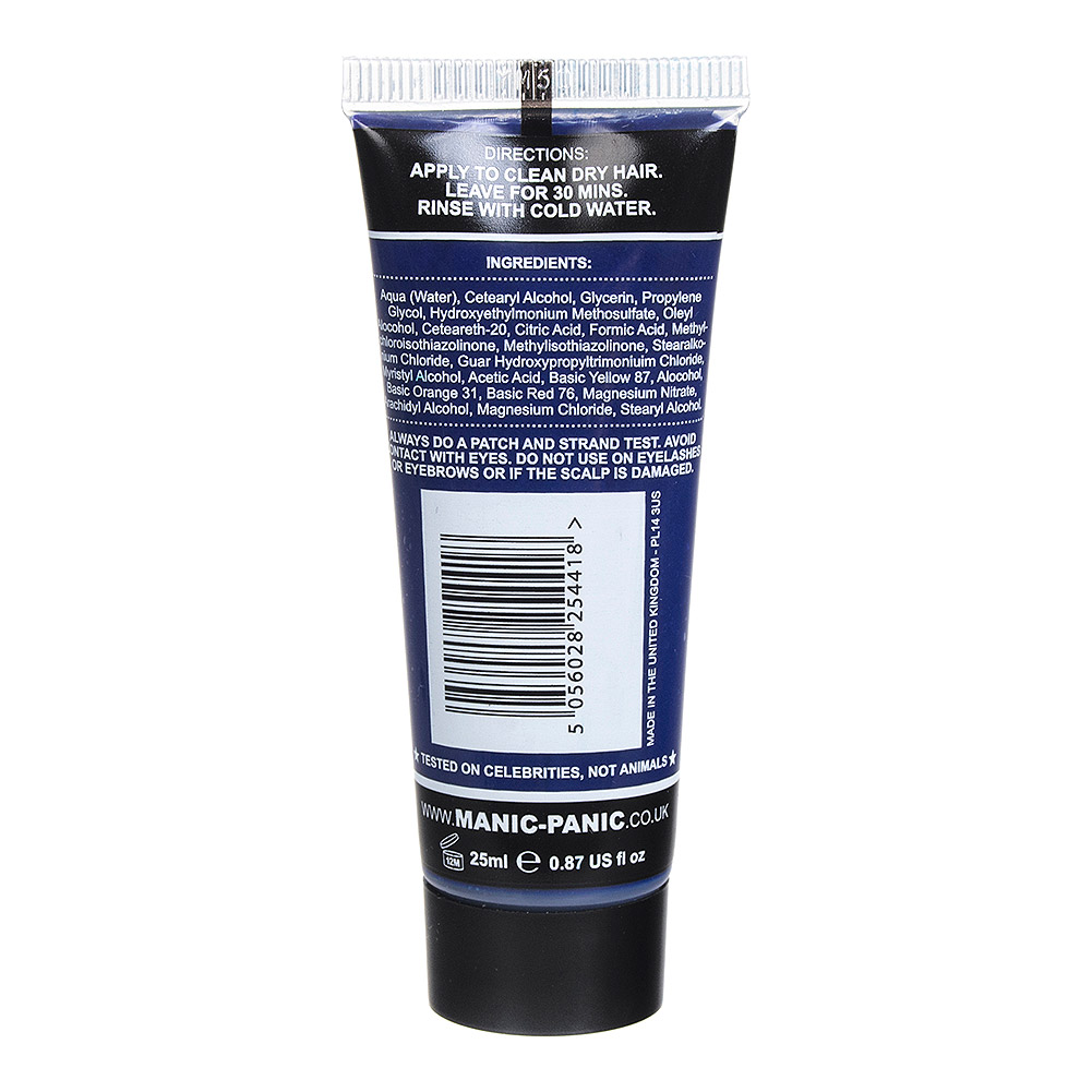 Manic Panic High Voltage Classic Cream Mini Hair Dye Set 125ml (Rockabilly Blue)