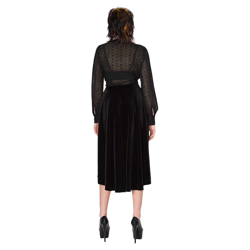 Banned Lily Skirt (Black)