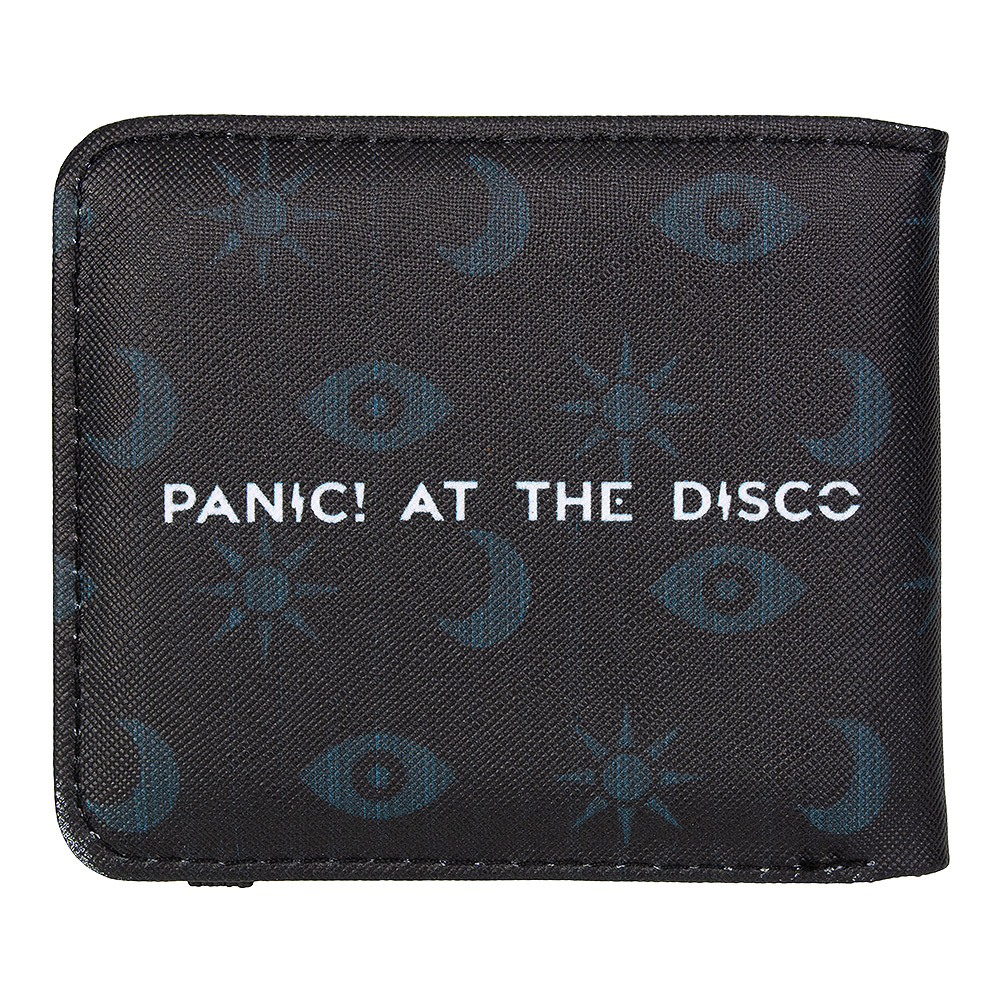 Rocksax Panic! At The Disco Icons Wallet (Black)