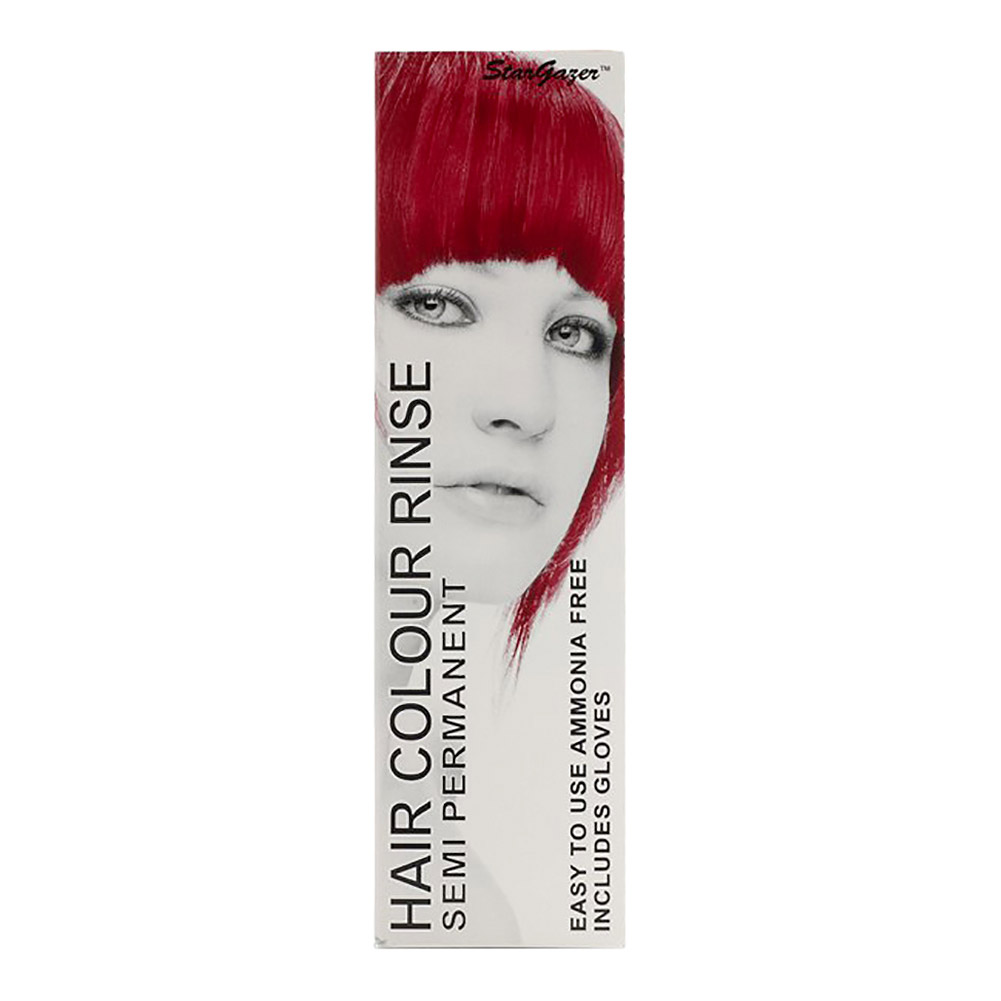 Tinte capilar semi-permanente de Stargazer 70ml (Rouge Red - rojo colorete)