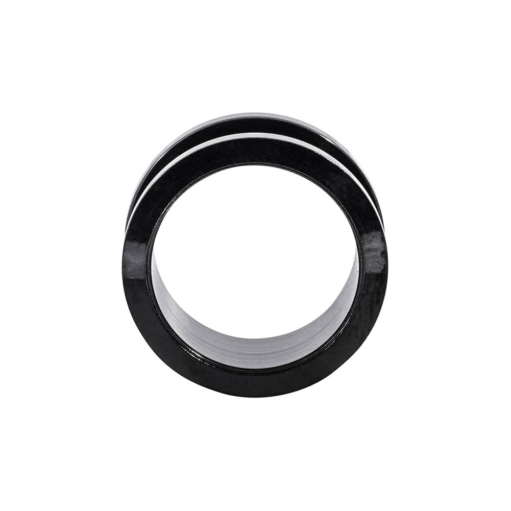 Blue Banana Surgical Steel Flared Flesh Tunnel 3-24mm (Black)