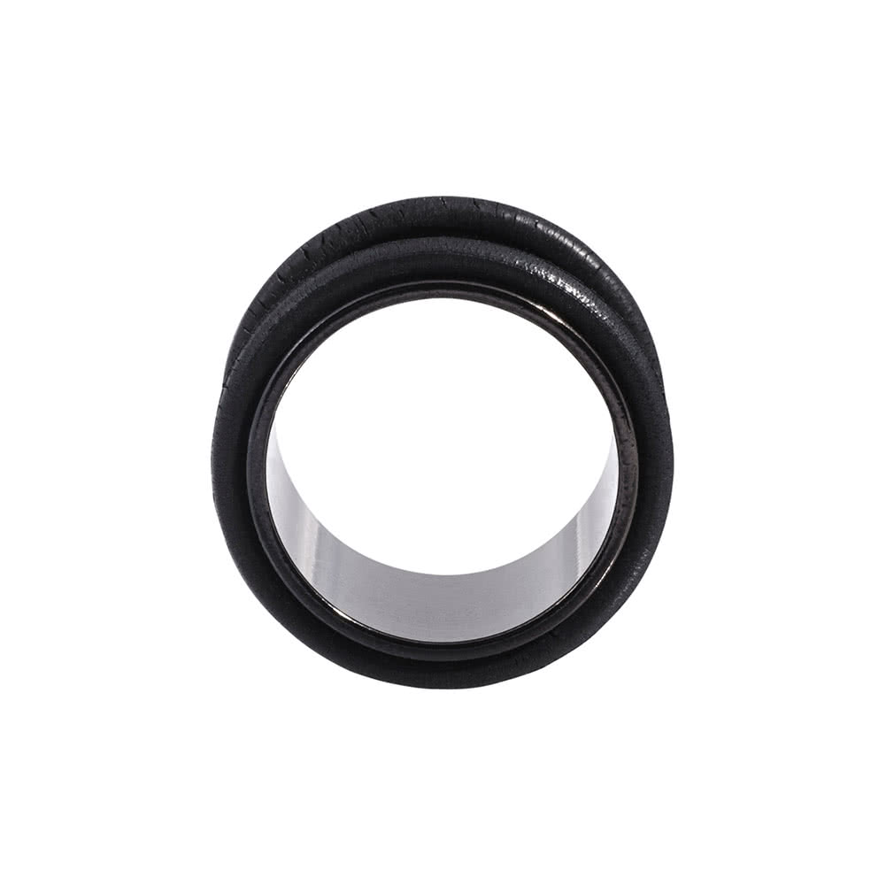 Blue Banana Surgical Steel Flesh Tunnel 3-20mm (Black)