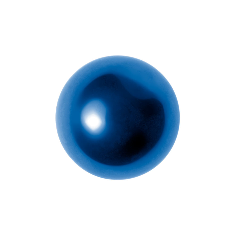 Blue Banana Surgical Steel 5mm Ball Add On Accessory (Blue)