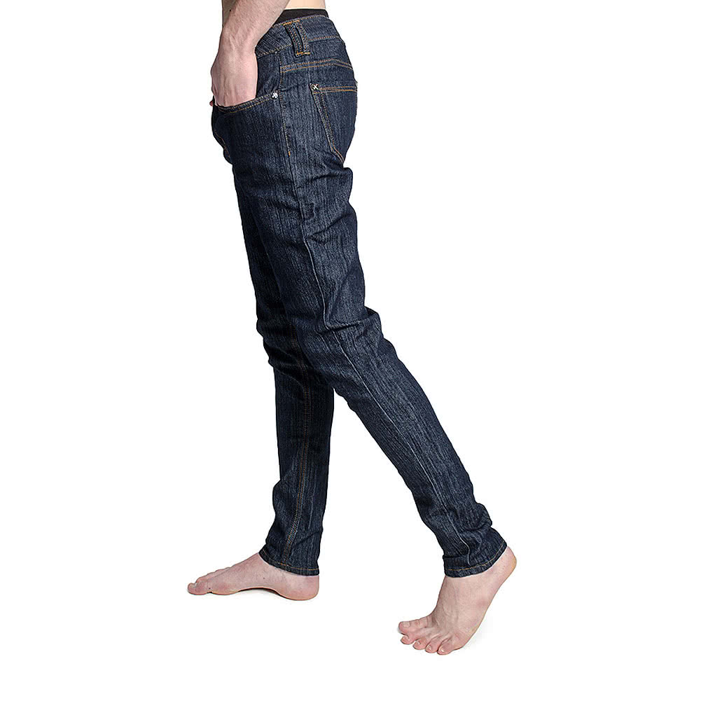 Criminal Damage Skinny Fit Jeans (Indigo Blue)