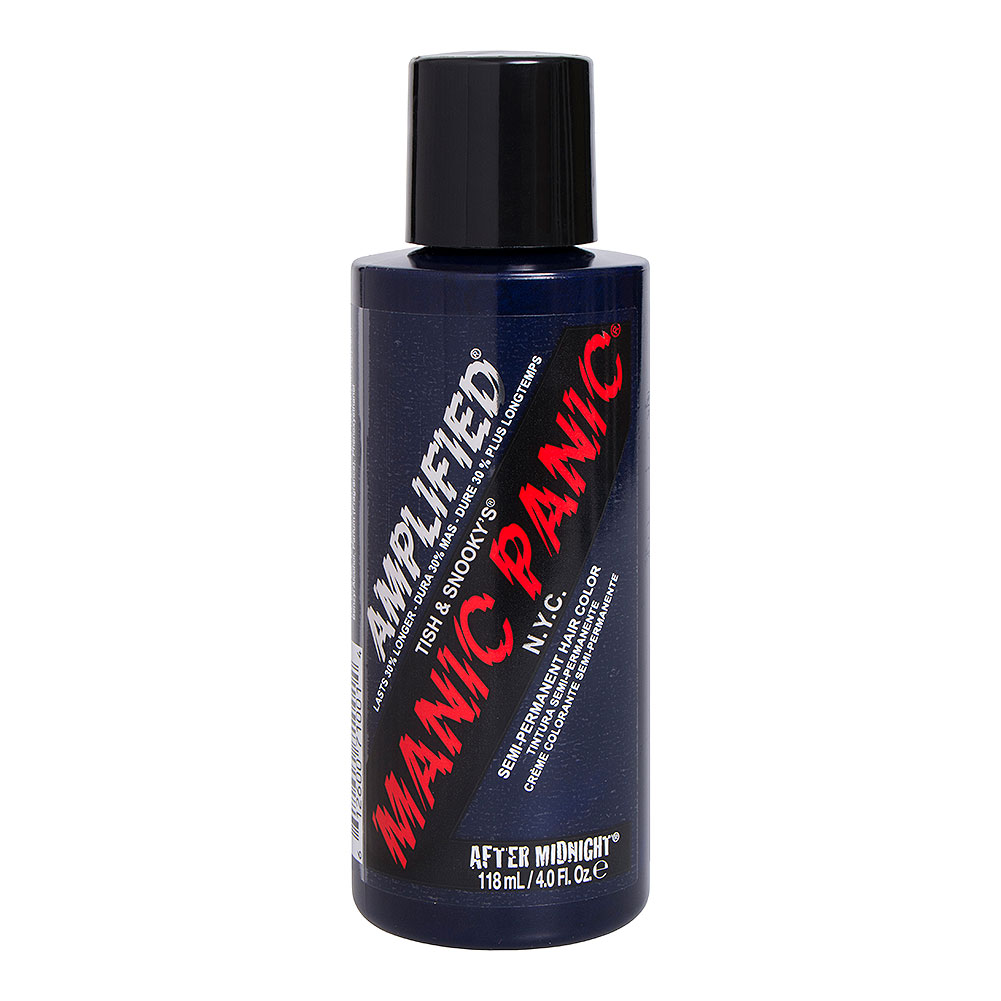 Colorante Per Capelli Semi-Permanente Amplified Manic Panic (After Midnight - Blu)