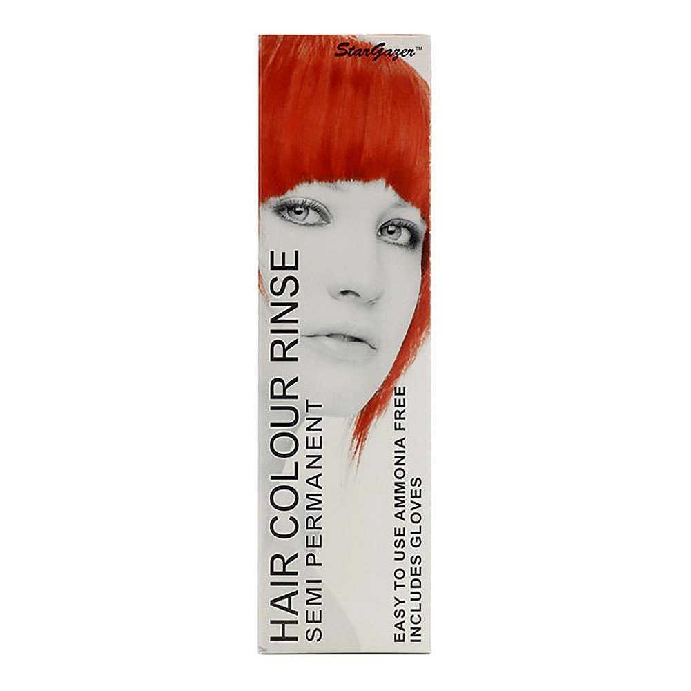 Colorante Per Capelli Semi-Permanente Fosforescente Uv 70ml Stargazer (Rosso)