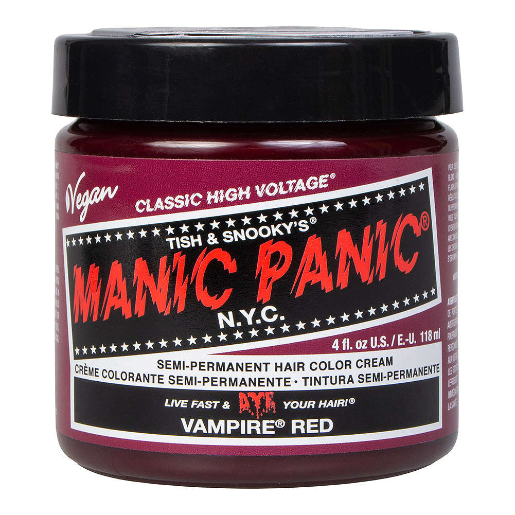 Manic Panic Classic Coloration  Semi-Permanente 118ml (Vampire Red)