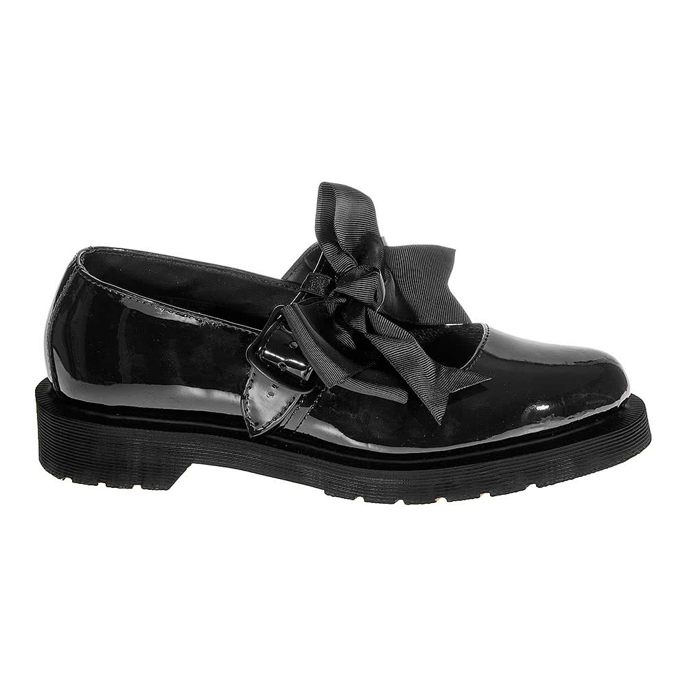 Dr Martens Mary Jane Chaussures (Noir)