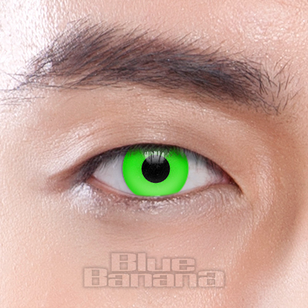 UV i-Glow 30 Day Coloured Contact Lenses (Green)