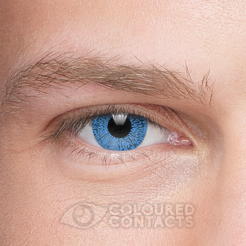 One Tone 90 Day Coloured Contact Lenses (Blue)