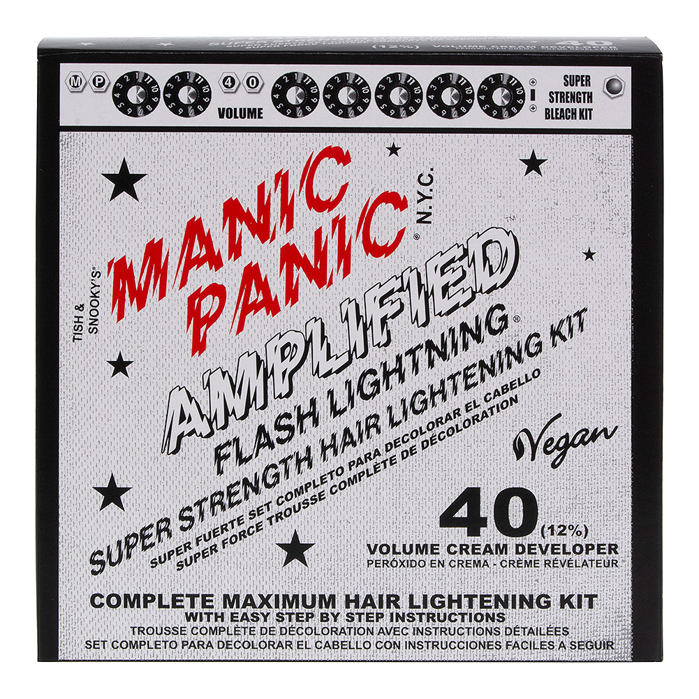 Manic Panic Amplified Hair Bleach Flash Lightning Kit (40 Volume)