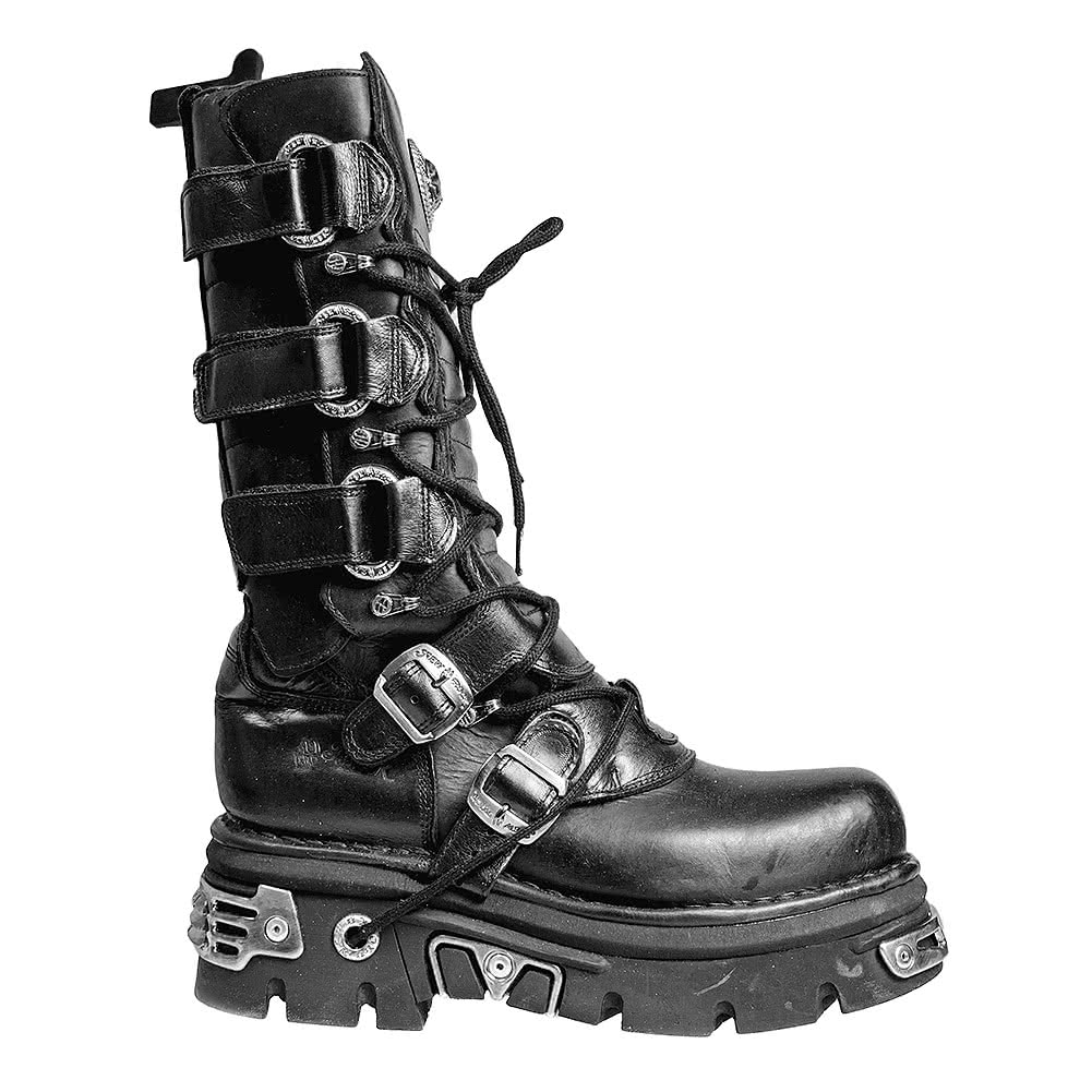 New Rock M.474-S1 Reactor Boots (Black)