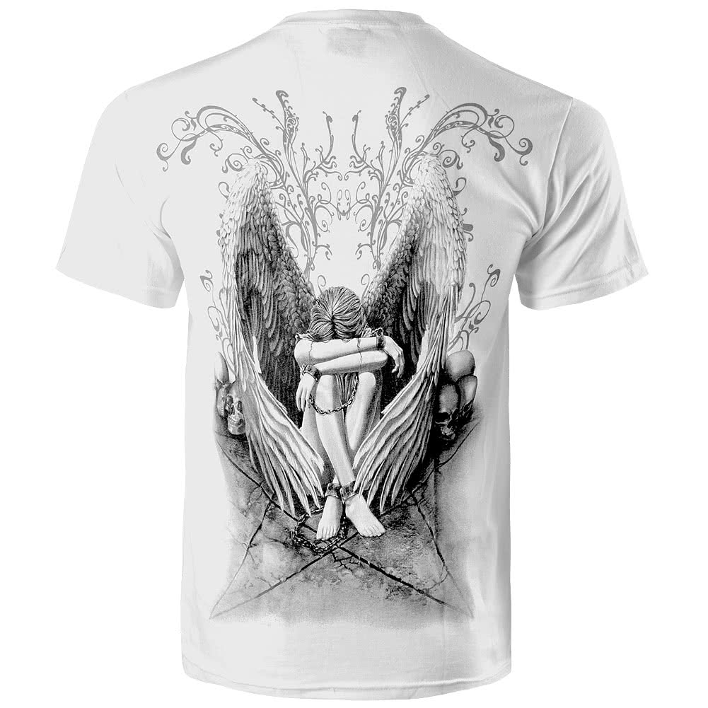 Spiral Direct Enslaved Angel T Shirt (White)