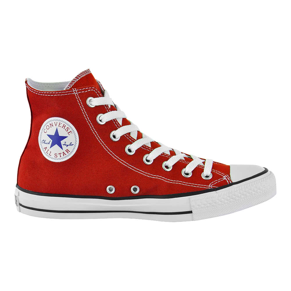 Converse All Stars Baskets Montantes (Rouge)