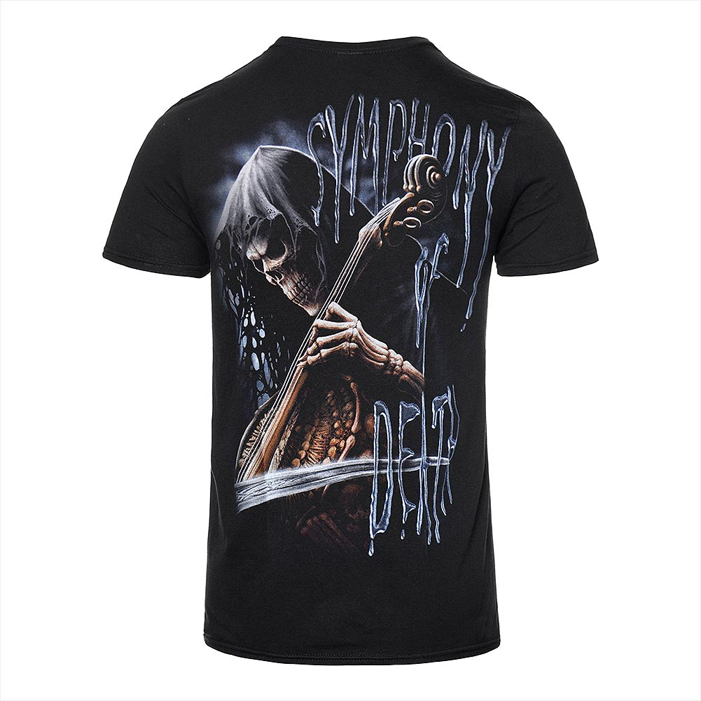 T Shirt Spiral Direct Symphony Of Death (Nero)