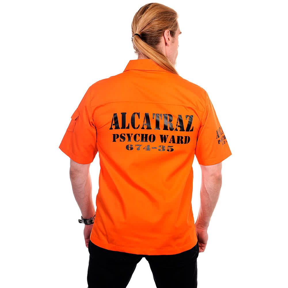 Banned Alcatraz Shirt (Orange)