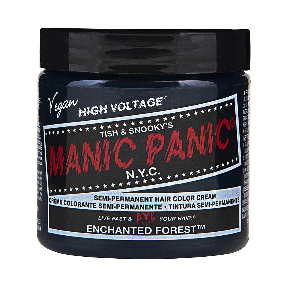 Manic Panic High Voltage Classic Cream Formula Colour Hair Dye 118ml (Enchanted Forest)