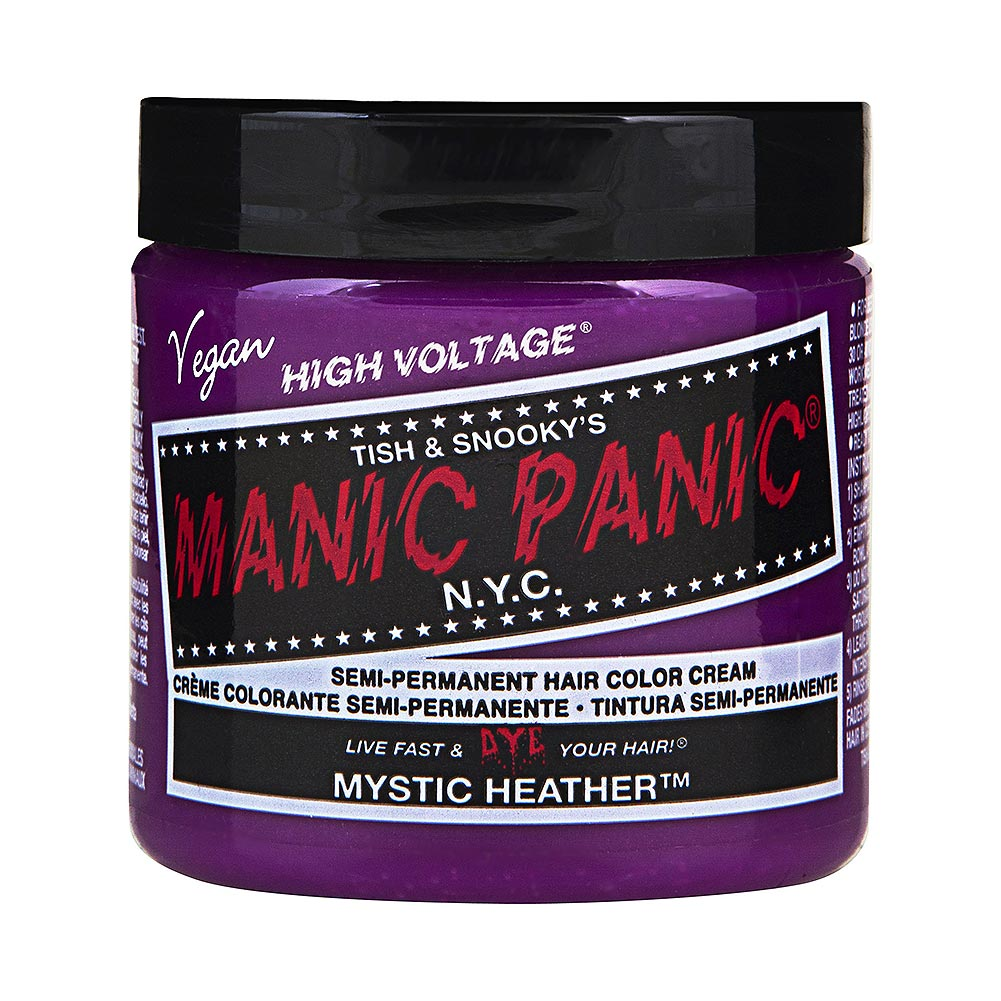 Manic Panic High Voltage Classic Cream Formula Colour Hair Dye 118ml (Mystic Heather)