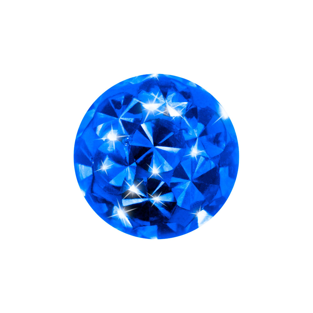 Crystal Glitzer Ball (Capri)