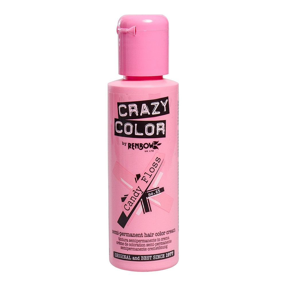 Crazy Color Coloration  Semi-Permanente 100ml (Candy Floss Pink)