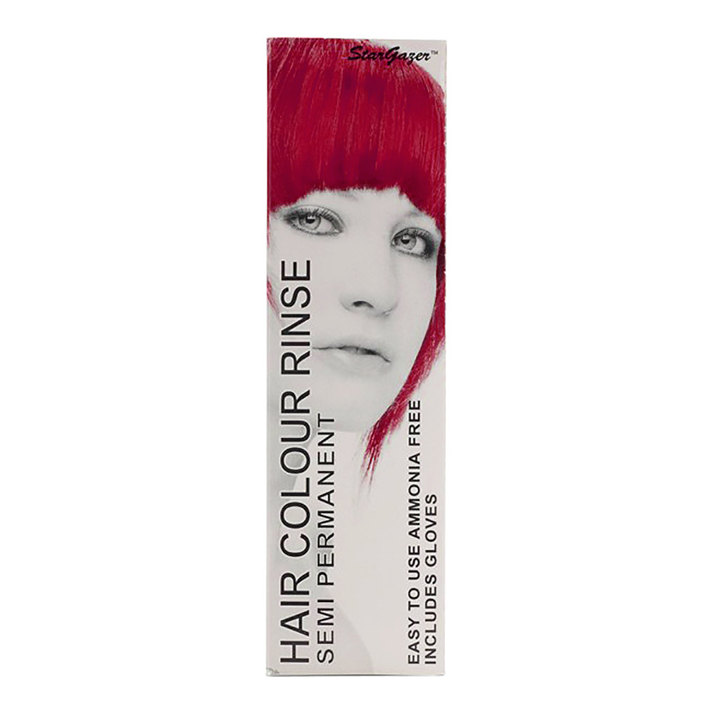 Tinte capilar semi-permanente de Stargazer 70ml (Hot Red - rojo caliente)