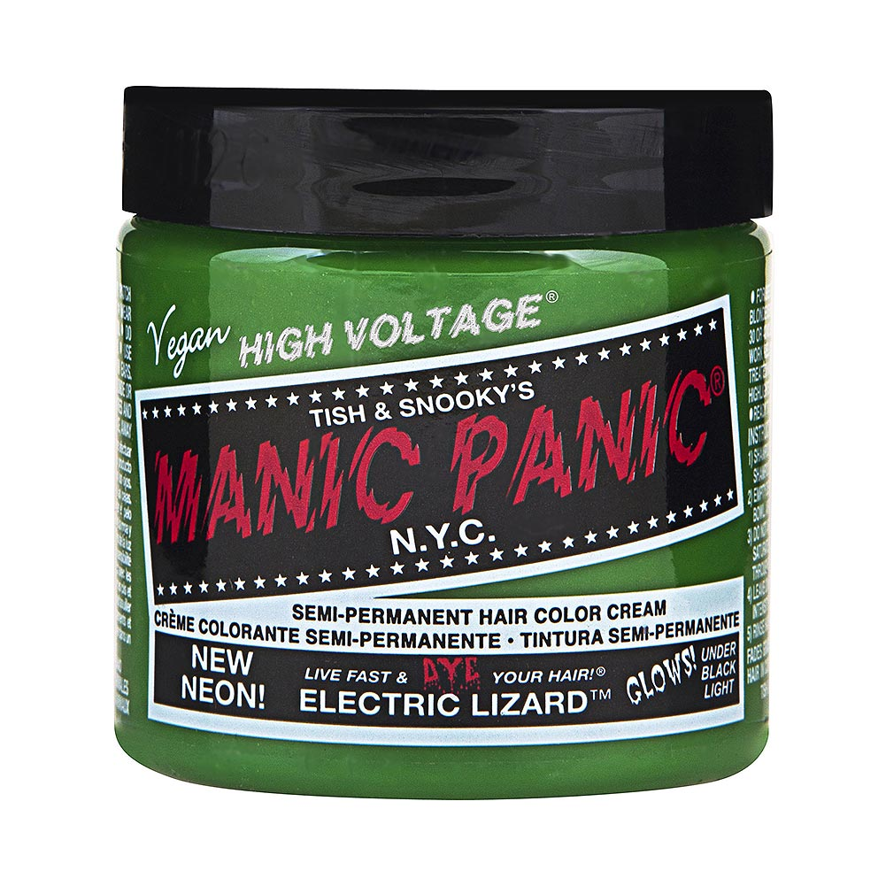 Colorante Per Capelli Formula Classic Cream High Voltage Manic Panic (Electric Lizard - Verde)