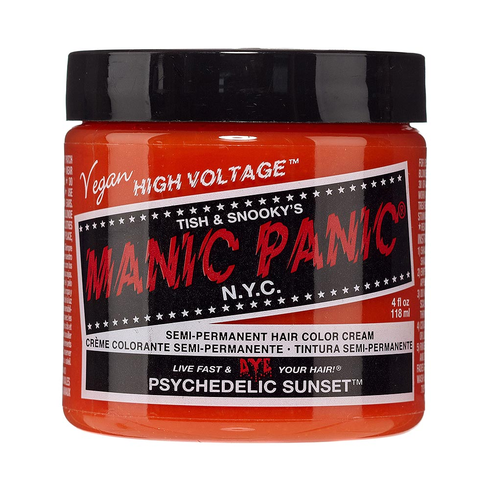 Colorante Per Capelli Formula Classic Cream High Voltage Manic Panic (Psychedelic Sunset - Arancione)