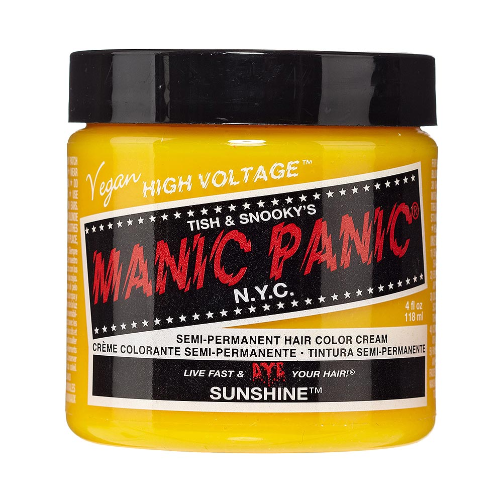 Colorante Per Capelli Formula Classic Cream High Voltage Manic Panic (Sunshine - Giallo)